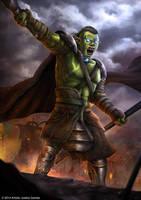 Goblin King by djambronx