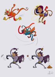 Justice Monkeys by Che-Crawford