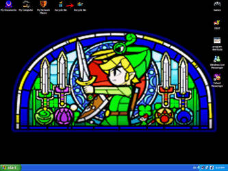 my desktop by Sylnoss