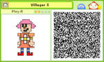 Female Villager Stretchmo by Dave-Sledge-Bro