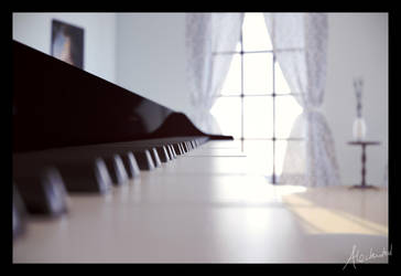 Grand Piano by alechanted