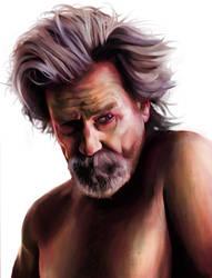 Jeff Bridges by stemacdonald