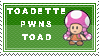 Toadette stamp by noname4you