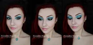 Aquamarine Makeup by psychoren