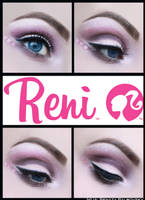 Barbie Eye Makeup by psychoren
