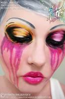 Chubby Cherry Makeup by psychoren