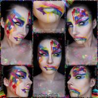 Toxic Rainbow by psychoren