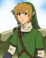 Skyward Sword Link by scmscmscm09