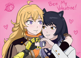 Bumbleby Valentine's Day by scmscmscm09