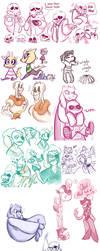 Undertale Doodles (SPOILERS) by XxBloodsbanexX