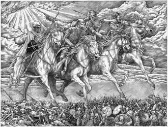 The Four Horsemen of the Apocalypse by VladGradobyk