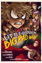 Little Red Riot and the Big Bad Wolf by Goombac