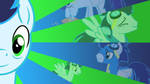 MLP-Wallpaper-Soarin by SigHoovestrong