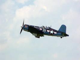 F4U Corsair Take off by zammariangod