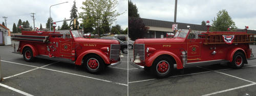 Old Timer Firetruck by OliverRed