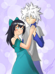 Elise and Killua [request] by Shingo-Hayasa