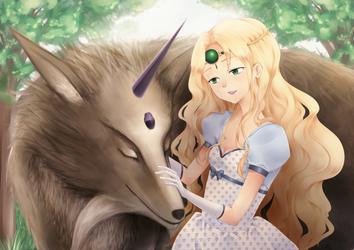 Inouva and Emerald by akiko-sama