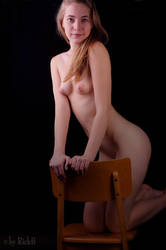 Nastya and my Old School Chair 12 by RickB500
