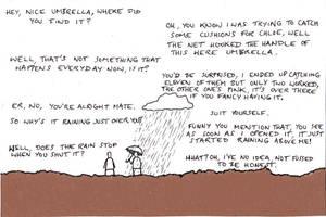 Island Folk : Umbrella by brobe