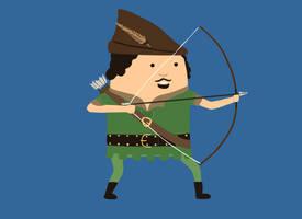 18. Robin Hood by brobe