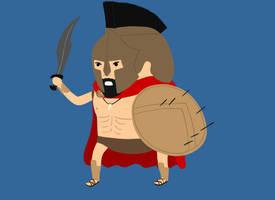 20. King Leonidas by brobe