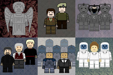 LEGO Doctor Who by brobe