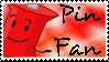 Pin fan by Kaptain-Klovers