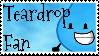 Teardrop Fan by Kaptain-Klovers