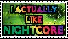 I leik Nightcore by Kaptain-Klovers