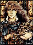 Swordswoman by Ravven78