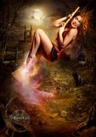 Novice Witch by Ravven78