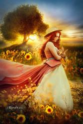 Sunflower Alice by Ravven78