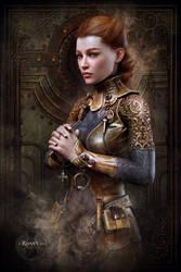 Fantasy Medieval Portrait by Ravven78