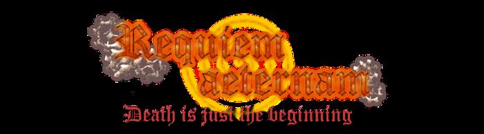 Requiem aeternam Logo by NathalieWojta