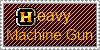 Heavy Machine Gun Stamp by Ciezure