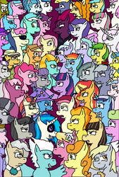 Pony Rumble All Stars by eunos
