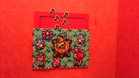 Zelda - Flute Boy - Hama Beads by acidezabs