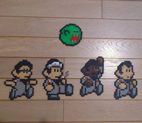 Ghostbusters (Mario style) by acidezabs