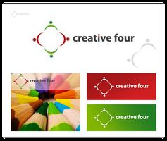 Creative four - logo by pek5