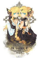Magnet : Rin and Len by kaminary-san
