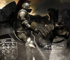 The Black Knight by Art-By-Mel-DA