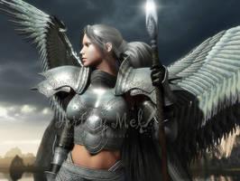Heaven's Spear by Art-By-Mel-DA