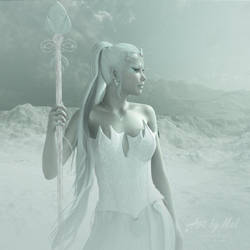 The Snow Queen by Art-By-Mel-DA