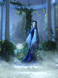 Lovely is the Night by Art-By-Mel-DA