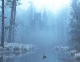 Winter in Blue by Art-By-Mel-DA