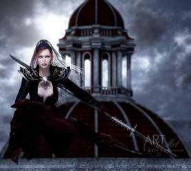 The Crimson Guard by Art-By-Mel-DA