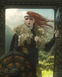 Warrior Queen by Art-By-Mel-DA