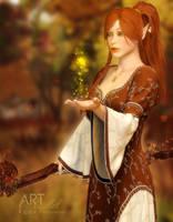 A Little Autumn Magic by Art-By-Mel-DA