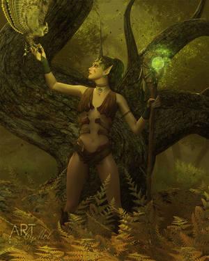 Keeper of the Earth by Art-By-Mel-DA