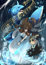 AA2- Song of Storm contest-Suzzy by yami11